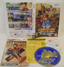 One Piece: Unlimited Adventure (Nintendo Wii) Complete! Import JPN