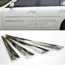 Chrome Side Skirt Door Line Sill Molding 4P Set Door Protector for Mercedes Benz