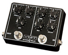 VHT Echo-Verb AV-EV1 ANALOG DELAY and REVERB Guitar Effects Pedal w power Supply