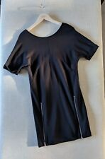 Vestido Estilo Túnica Suéter Vestido silbidos en un negro XS UK 6 o 8 Nuevo