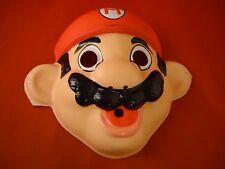 Super Mario Bros. Nintendo NES Era Halloween Costume Mask 1988 NOA *NEW*