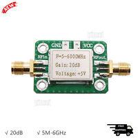5M-6GHz RF Amplifier 20dB Low Noise  Ultra Wideband Medium Power Amp Board