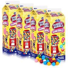 Dubble Bubble Gum-Balls Nachfüll-Packung Kaugummis für Kaugummi-Automaten (4er P