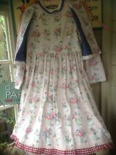 Cath kidston Flowerpot Fabric Dress And Jacket Size 14/16