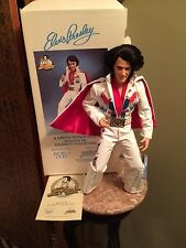 ELVIS PRESLEY ALL AMERICAN 1984 WORLD DOLL 21 box VINYL 2nd edition rooted hair