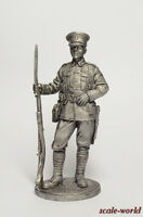 Tin toy soldier, miniature. Private infantry regiment. Great Britain, 1914 54 mm