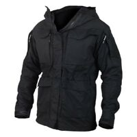 Mens Military Hooded Waterproof Tactical Coat Outdoor Casual Trainer Army Jacket