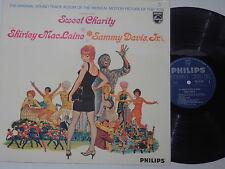 SWEET CHARITY - (Shirley Mac Laine, Sammy Davis, Jr.) LP  Soundtrack  OST
