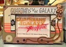 Disney Parks Guardians of the Galaxy Mission BREAKOUT Groot Cassette Photo frame