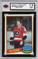 1980-81 OPC #39 Brian Propp RC Graded 7.5 NM+ (*100519-170)