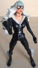 "Spider-Man Black Cat 6"" Marvel Legends Articulated Figure Toybiz Sinister Six"