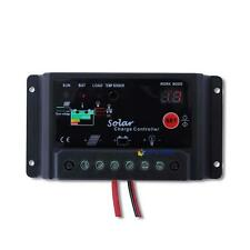 30A 12V 24V Solar Panel Regulator Battery Charge Controller PV System Black MT