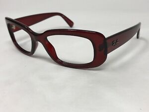 RAY-BAN RB4122 735/8G Sunglasses Frame Italy Womens Burgundy Ruby Red MB47