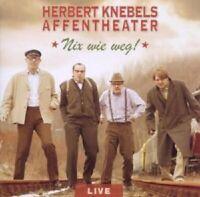 """HERBERT KNEBELS AFFENTHEATER """"NIX WIE WEG"""" CD NEUWARE"""