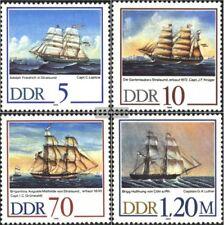 DDR 3198-3201 (kompl.Ausgabe) postfrisch 1988 Segelschiffe