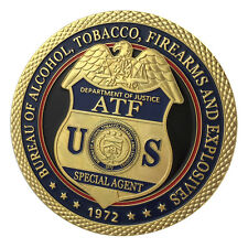 Bureau of Alcohol, Tobacco, Firearms and Explosives / ATF Challenge Coin 1222#