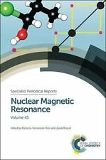 Nuclear Magnetic Resonance Vol. 43 by Jacek Wójcik (2014, Hardcover)
