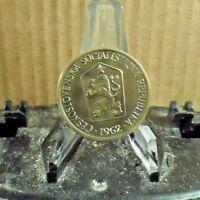 CIRCULATED 1962 1 KORUNA CZECHOSLOVAKIAN COIN (30817)1