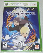 Tales of Vesperia for Xbox 360 Brand New! Factory Sealed!