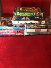 New ListingDisney's Home Video Vhs Lot Of 9 Sale
