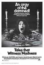 Tales That Witness Madness Poster 02 Metal Sign A4 12x8 Aluminium