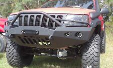 Jeep Grand Cherokee WJ Winch Front Steel Custom Bumper 4 lights