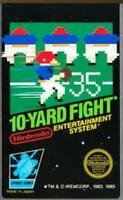 10 Yard Fight Nintendo NES Game Used