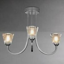 John Lewis Chrome 1-3 Lights Ceiling Pendants
