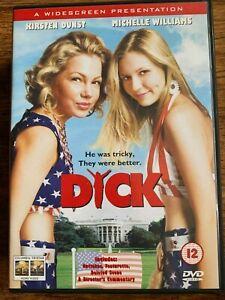 Dick DVD 1999 Richard Nixon White House Teen Movie Comedy w/ Kirsten Dunst