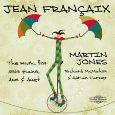 Jean Francaix : Jean Francaix: The Music for Solo Piano, Duo & Duet CD 3 discs