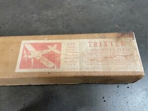The TRIXTER - A Stunt Model Airplane Kit
