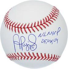 Fanáticos de béisbol autografiado Albert peatonal Cardenales Auténtico Certificado de autenticidad de artículo #9986827