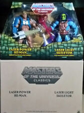 Masters of the Universe Classics Laser Power He-Man & Laser Light Skeletor 2Pack