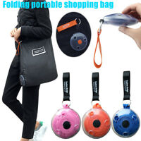 Reusable Shopping Shoulder Bag Multifunctional Portable mini Foldable Pocket new