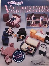 Victorian Family Furnishings Plastic Canvas Patterns Needlecraft Shop Leaflet