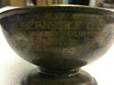 Vintage Albermarle C.C. Golf Trophy Dated 1917 Engraved