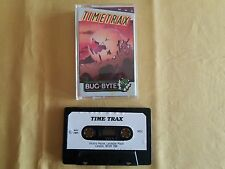Msx Game GAME CASSETTE TAPE Time Trax Vintage Game Retro Game 1986