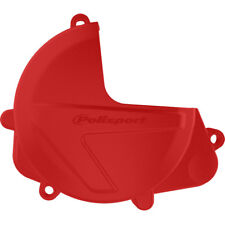 Polisport MX Clutch Cover Protector - Honda CRF450 17-18 CRF450X 17-18 - Red