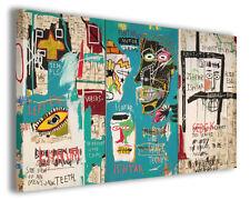 Quadro moderno Jean Michel Basquiat vol VII stampa su tela canvas arredo poster