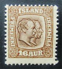 nystamps Iceland Stamp # 78 Mint Og Nh $33 J15y902