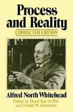 Process and Reality : An Essay in Cosmology by Alfred North Whitehead (1979, Pa…