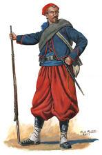 Civil War 1st Louisiana Zouave Battalion Coppen's Zouaves Signed Art Print