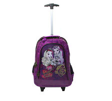 EVER AFTER HIGH SAC À ROULEAUX Sac à dos scolaire Trolley Officielle NEUF!!