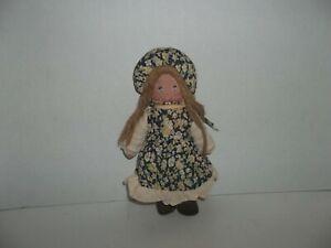 "vintage holly hobbie friend amy cloth doll plush 9"" tall"