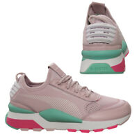 Puma RS-0 Play Lace Up Mens Running Shoes Lilac Trainers Low Top 367515 04 Q1