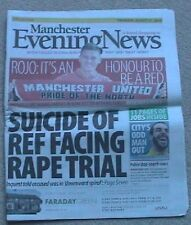 2014 Manchester Evening News Suicide Ref Facing Rape Trial (Thursday 21 August)
