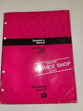 John Deere 2630 Tractor Operator's Manual Om-R56168 H3 Dealer Service Shop Copy