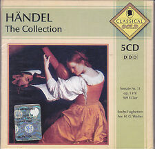 5 CD Box Cofanetto **HANDEL ♫ THE COLLECTION** nuovo Classic Gold
