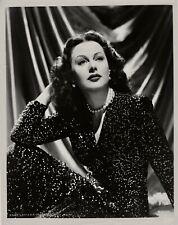 Hedy Lamarr ~ ORIGINAL glamour portrait... circa 1942