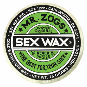 SEX WAX Mr Zogs OG COLD White - Coconut Scented